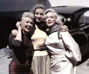 Marilyn Monroe, Lauren Bacall, and Betty Grable image