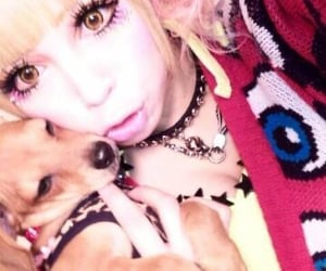 animal, gyaru, and japanese fashion image