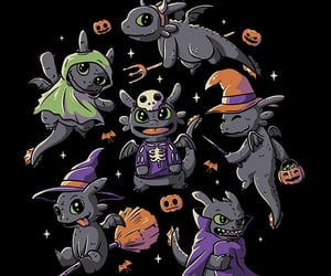 arte, Halloween, and ilustracion image