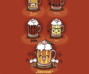 arte, beer, and ilustracion image