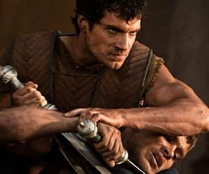 Henry Cavill, immortals, and theseus image