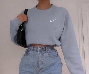 blue, fashion, and nike image