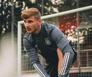 Chelsea FC, timo werner, and germany nt image