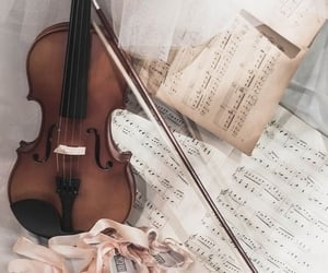 music, OC, and violin image