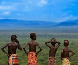 africa, beautiful, and child image