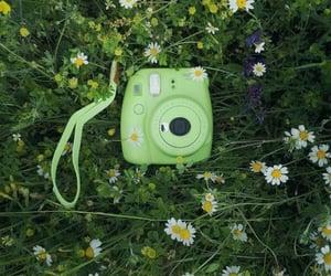 camera and green image