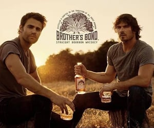 men, tvd, and bourbon image