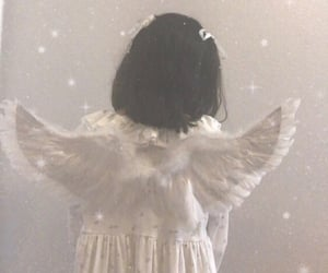 aesthetic, angel, and Angel Wings image