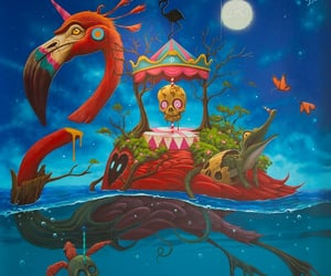 paintings, art, and surrealism image