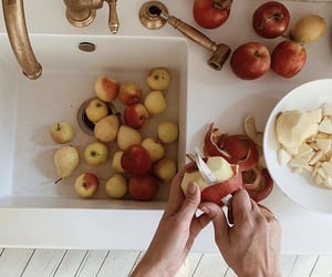 apple, home, and kitchen image