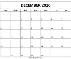 calendar, december, and december calendar image