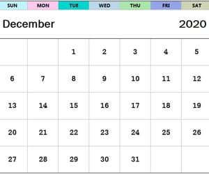 december, december calendar, and month of december image