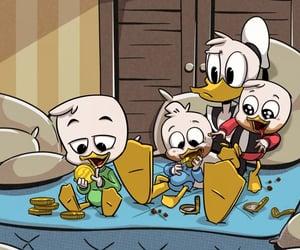 donald duck, dewey duck, and huey duck image
