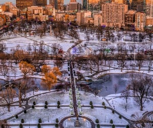 aerial photography, aerial view, and boston image