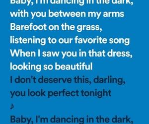 song, perfect, and Lyrics image