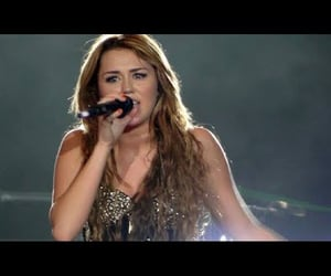 miley cyrus, video, and gypsy heart tour image