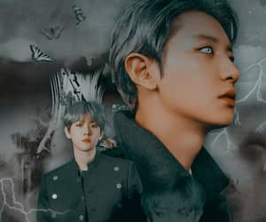 edit, chanyeol, and kpop image