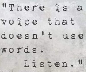 listen, quote, and voice image