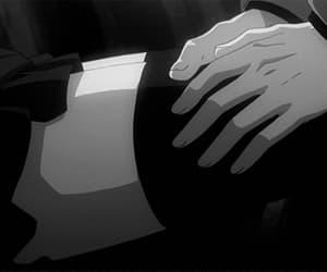 gif, anime thighs, and anime girl image