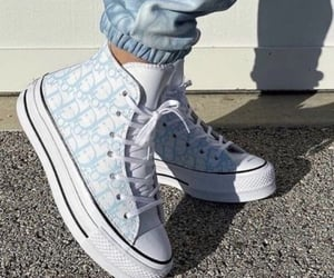 shoes, dior, and blue image