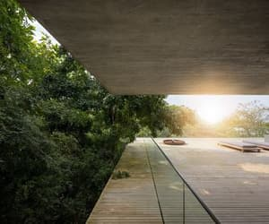 architecture, home, and jungle house image