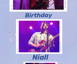 niall, niall horan, and happy birthday niall image