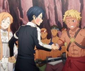 anime girl, anime boy, and anime image