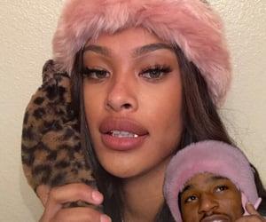 lips, cheetah print, and grills image
