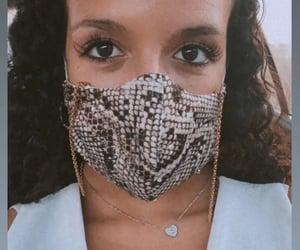cleavage, mask, and animalprint image