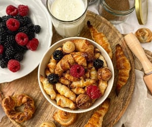 aesthetic, croissants, and delicious image