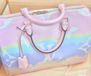 pastel, bag, and expensive image