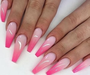 fake nails, nail goals, and make-up image