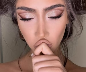 beauty, eyeshadow, and make up image