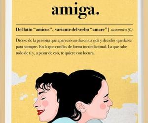 vida, amistad, and frases español image