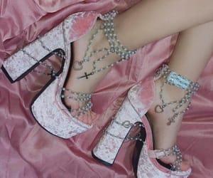 aesthetics, fashion, and heels image