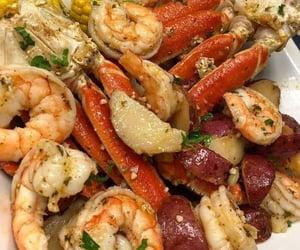 shrimp, food, and seafood image