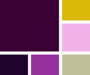 palette and purple image