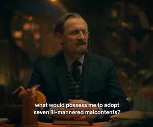 the umbrella academy, sir reginald hargreeves, and colm feore image