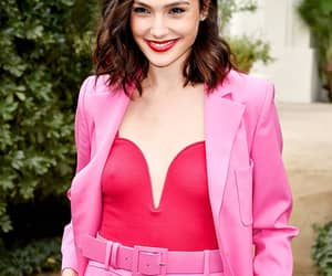 pink, gal gadot, and red image
