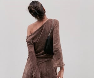 brown, fashion, and purse image
