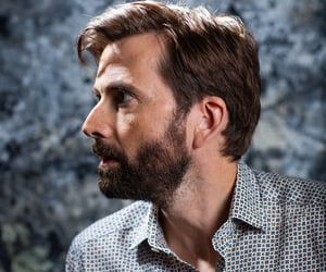 david tennant, doctor who, and good omens image