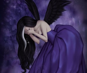 art, fallen angel, and Darkness image