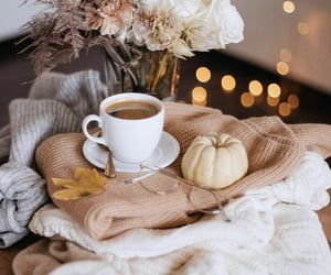 coffee and fall image