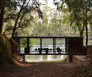 bridge, green, and home house image