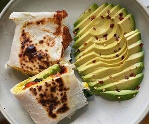 food, avocado, and wrap image