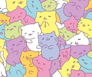 art, awesome, and cats image