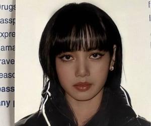 lisa, blackpink, and id image