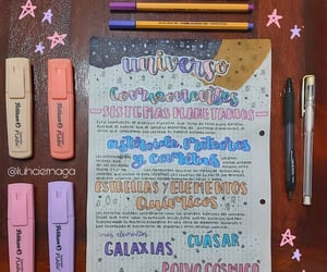 beautiful, galaxia, and colores image