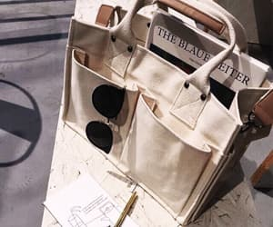 aesthetic, bag, and white image