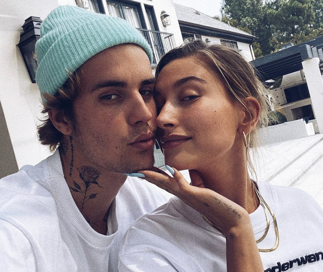 hailey bieber and justin bieber image